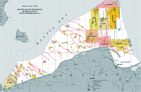 Grupa LOTOS, through its subsidiary LOTOS Petrobaltic, is the only Polish enterprise engaged in hydrocarbons production in the Polish economic zone of the Baltic Sea