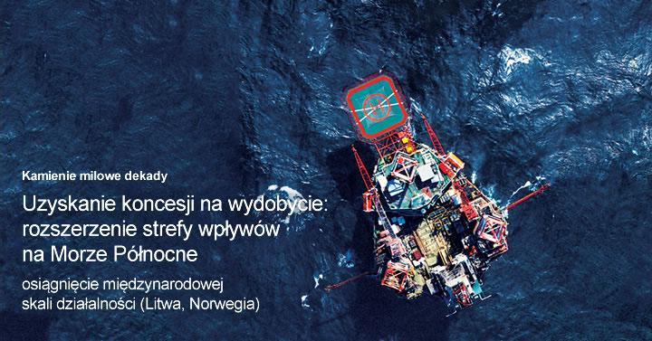 Uzyskanie koncesji na wydobycie: rozszerzenie strefy wpływów na Morze Północne